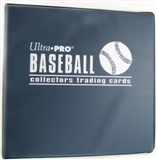 "Ultra Pro 3"" Navy Baseball Card Collectors Album"