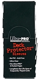 Ultra Pro Yu-Gi-Oh! Size Hi-Gloss Black Deck Protectors 12 Pack Box (50 Count Pack)