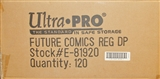 Ultra Pro Future Comics Standard Deck Protectors Case - 120 Packs
