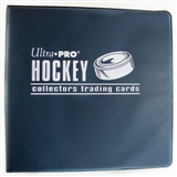 "Ultra Pro 3"" Navy Hockey Card Collectors Album (12 Count Case)"