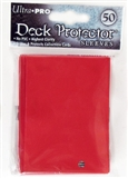 Ultra Pro Lava Red Deck Protectors 50 Count Pack