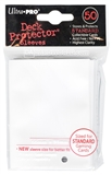 Ultra Pro Powder White Deck Protectors 50 Count Pack