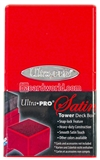 Ultra Pro Red Satin Tower Deck Box
