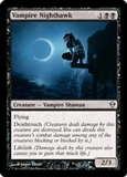Magic the Gathering Zendikar Single Vampire Nighthawk FOIL
