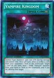 Yu-Gi-Oh Judgment of the Light Single Vampire Kingdom Super Rare Near Mint (NM)