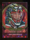 2012/13 In the Game Between The Pipes Masked Men V Rainbow #MM49 John Vanbiesbrouck