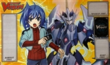 Cardfight Vanguard Descent of the King of Knights Playmat