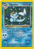Pokemon Jungle Single Vaporeon 12/64 - SLIGHT PLAY (SP)