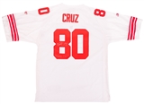 "Victor Cruz Autographed New York Giants Reebok On Field Jersey w/""Salsa Time"" Insc (PSA)"