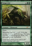 Magic the Gathering WMCQ Promo Single Vengevine FOIL - SLIGHT PLAY (SP)