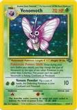 Pokemon Jungle Single Venomoth 13/64 - SLIGHT PLAY (SP)