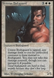 Magic the Gathering Beta Single Veteran Bodyguard - MODERATE PLAY (MP)