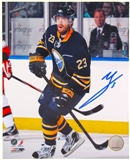 Ville Leino Autographed Buffalo Sabres 8x10 Hockey Photo