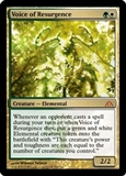 Magic the Gathering Dragon's Maze Single Voice of Resurgence Foil - NEAR MINT (NM)