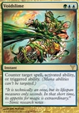Magic the Gathering Dissension Single Voidslime SLIGHT PLAY (SP)