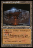 Magic the Gathering Stronghold Single Volrath's Stronghold - MODERATE PLAY (MP)