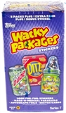 Wacky Packages Series 7 Trading Card 6-Pack Box (Topps 2010)