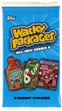 Wacky Packages Series 8 Trading Card Stickers Hobby Pack (Topps 2011)
