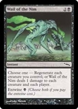 Magic the Gathering Mirrodin Single Wail of the Nim Foil