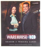 Warehouse 13 Season Three Premium Pack Trading Cards (Rittenhouse 2012)