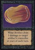 Magic the Gathering Alpha Single Warp Artifact - SLIGHT PLAY (SP)