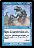 Magic the Gathering Invasion Single Wash Out FOIL