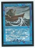 Magic the Gathering Beta Artist Proof Water Elemental - SIGNED BY JEFF A. MENGES