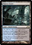 Magic the Gathering Gatecrash Single Watery Grave FOIL - NEAR MINT (NM)