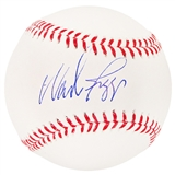 Wade Boggs Autographed Boston Red Sox Official Major League Baseball (Leaf COA)