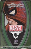 Upper Deck Vs System Marvel Web of Spiderman 1st Ed. Booster Pack