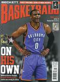 2017 Beckett Basketball Monthly Price Guide (#292 Janruary) (Russell Westbrook)