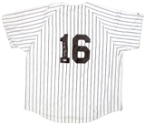 Whitey Ford Autographed New York Yankees Replica Jersey (PSA COA)