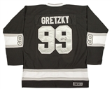 Wayne Gretzky Autographed Los Angeles Kings Authentic Black Jersey (PSA)