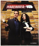 Warehouse 13 Season Two Premium Pack Trading Cards (Rittenhouse 2011)