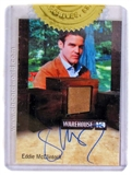 Warehouse 13 Season Three Premium Pack Eddie McClintock Autograph/Relic Card 4-Box Incentive