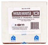 Warehouse 13 Season Four Premium Pack Trading Cards Box (2013 Rittenhouse)
