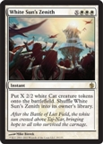 Magic the Gathering Mirrodin Besieged Single White Sun's Zenith UNPLAYED (NM/MT)