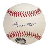 Willie Mays Autographed Official Major League Baseball (PSA COA)