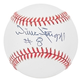 Willie Stargell Autographed Pittsburgh Pirates National League Baseball (JSA COA)