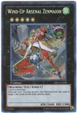 Yu-Gi-Oh Order of Chaos Single Wind-Up Arsenal Zenmaioh Secret Rare