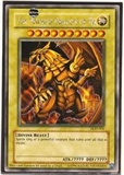 Yu-Gi-Oh Promo The Winged Dragon of Ra Secret Rare Single (DOD-001)- HEAVY PLAYED (HP)