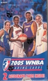 2005 Rittenhouse WNBA Basketball Hobby Box