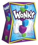 Wonky: The Crazy Cubes Card Game (USAopoly)