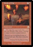 Magic the Gathering Onslaught Single Words of War Foil
