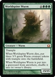 Magic the Gathering Return to Ravnica Single Worldspine Wurm - NEAR MINT (NM)