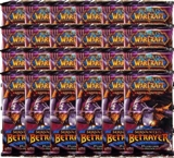 World of Warcraft Servants of the Betrayer Booster 24-Pack Lot (Box)