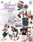 "Walter Payton Autographed Chicago Bears ""Legend Among Us"" Collage 8x10 Photo (PSA)"