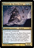 Magic the Gathering Worldwake Single Wrexial, the Risen Deep Foil