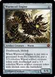 Magic the Gathering Scars of Mirrodin Single Wurmcoil Engine - SLIGHT PLAY (SP)