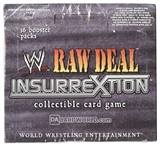 Comic Images WWE Raw Deal Insurrextion Wrestling Booster Box
